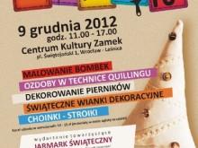 ozdoby choinkowe warsztaty centrum kultury wrocław