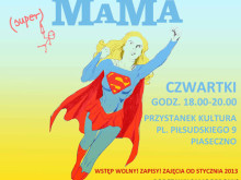Plakat Bezpieczna Mama
