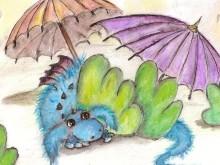 smok parasolki