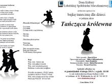 Lublin Dom Kultury dla dzieci bajka taneczna