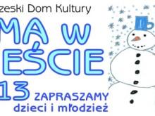 Tarnobrzeg, dla dzieci, zima w mieście, warsztaty, Dom Kultury, Tarnobrzeg