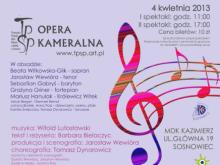 Zabłąkane Nutki, Opera Sosnowiec