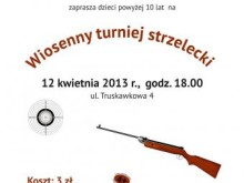 Wiosenny turniej strzelecki