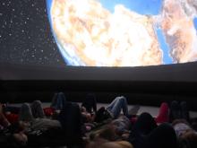 Astronomiczne Laboratorium Mobilne Olsztyńskiego Planetarium i Obserwatorium Astronomicznego.