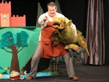 Przedstawienie o zielonym smoku